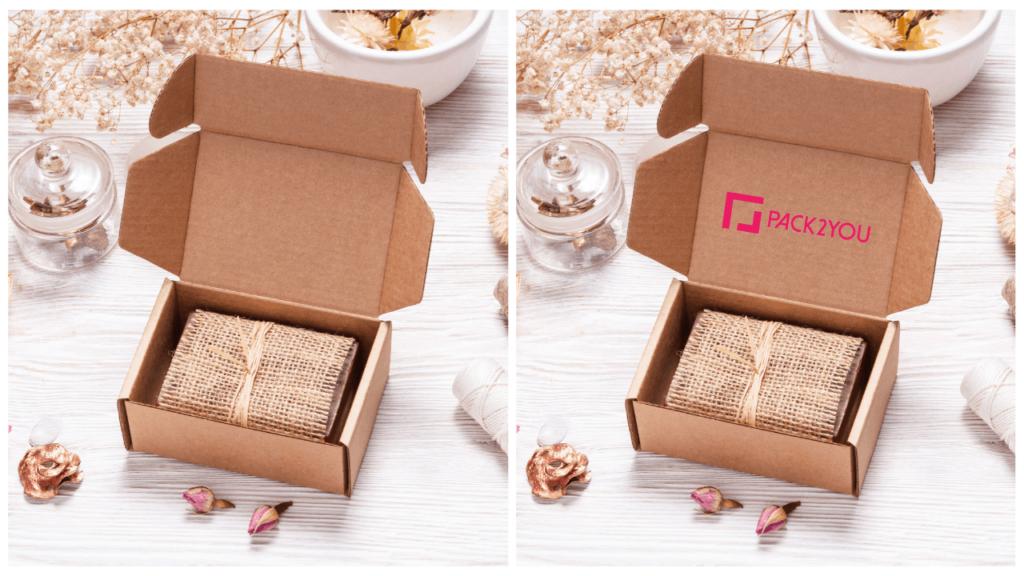 Pudełka z nadrukiem przykuwają uwagę klientów